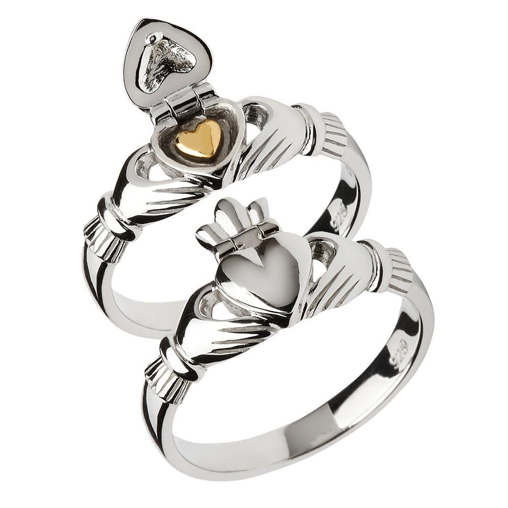 claddagh ring zilver