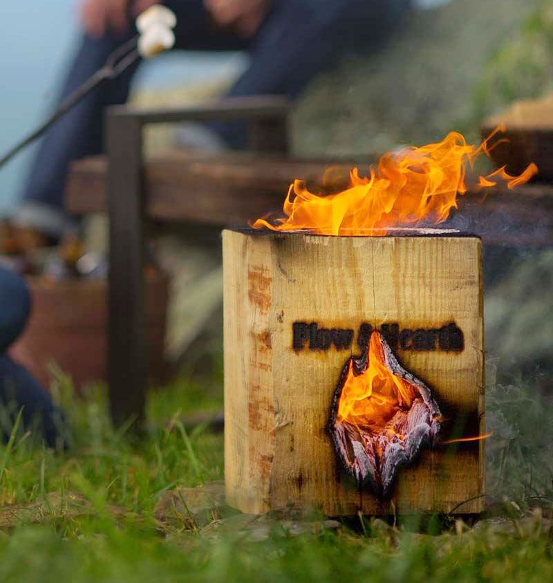 The Blazing Block is a block of wood that allows you to ...