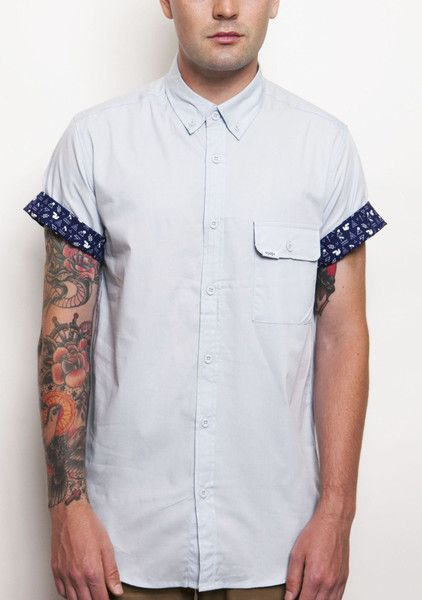 """Verano"" Shirt in Blue"