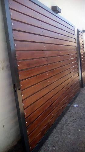 Resultado de imagen para portones de madera para quintas for Puertas y portones de madera