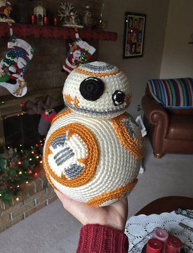 Crocheted BB8 at Christmas | Pinterest | Häkeln, Stricken und Filz