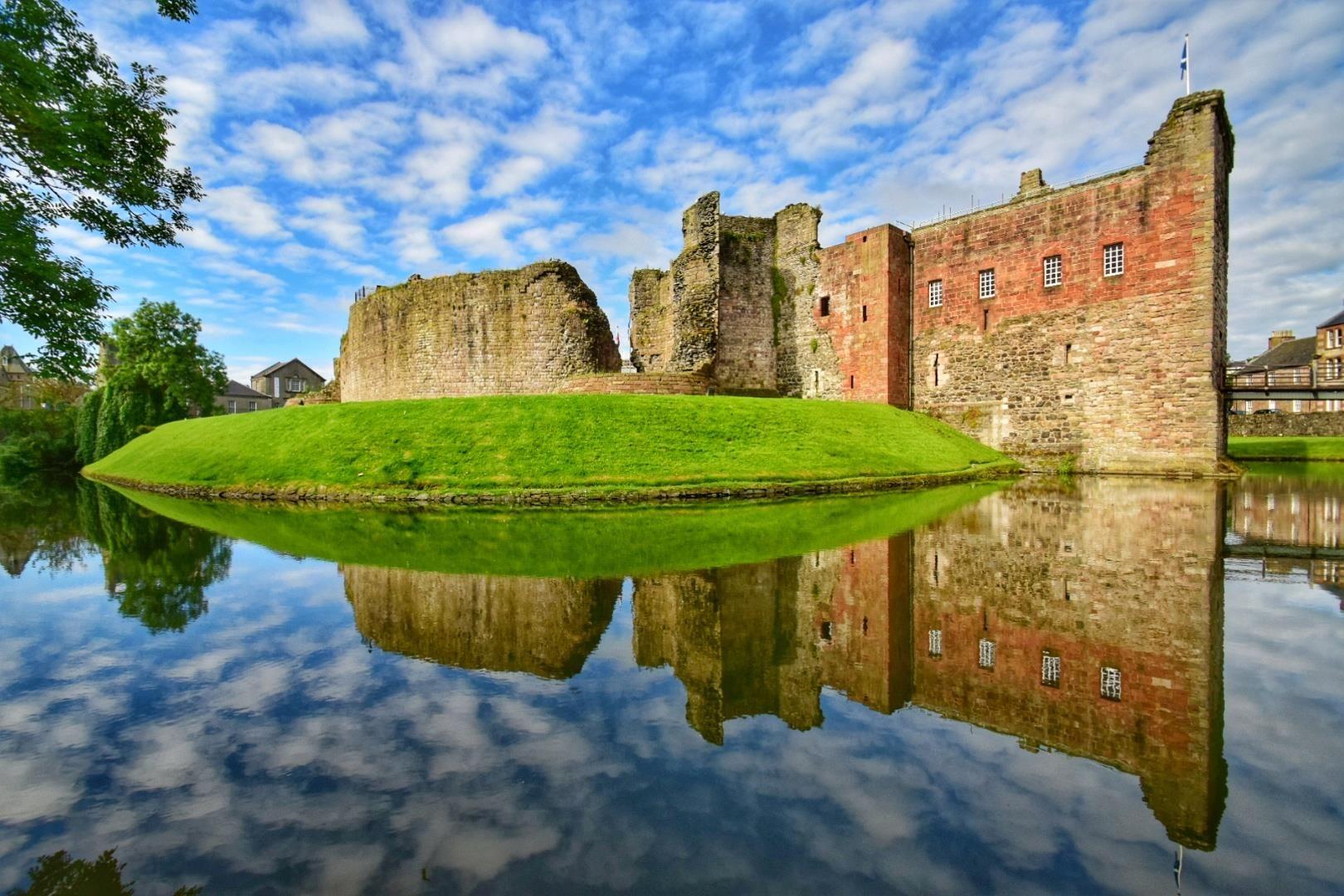 Rothesay Castle, Isle of Bute, Scotland.