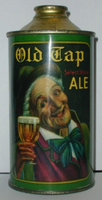 Old Tap Ale Beer Can