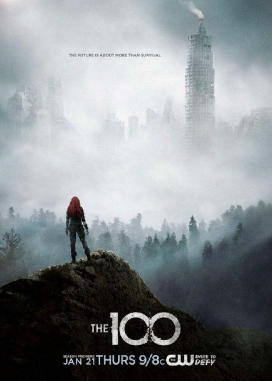 The 100 Clarke And Polis Poster Google Search The 100 Poster