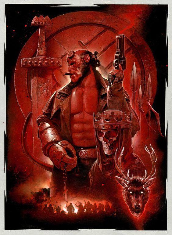 Pin On Ver Hellboy 2 0 1 9 Pelicula Co M P L E T A En Espanol L A T I N O Online