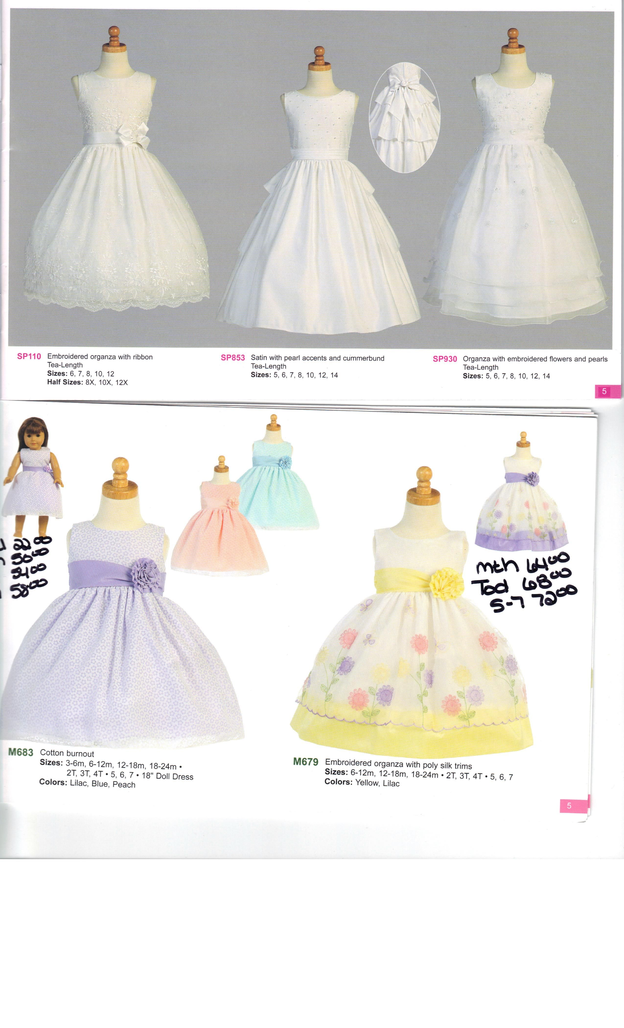 First Communion and Girls Spring Summer Dresses. Made in the USA Girls Dresses.