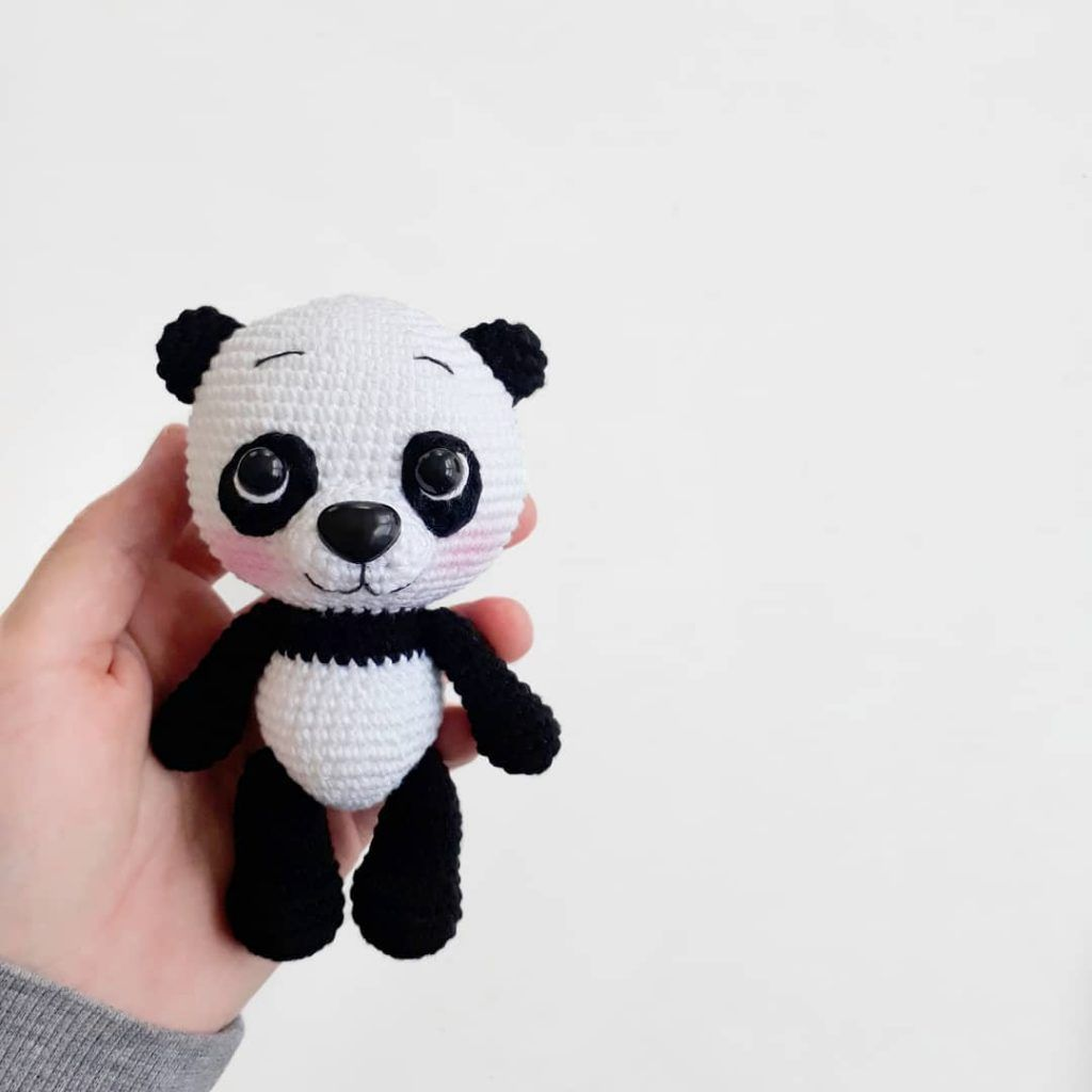 119 Crochet Pattern - Panda - Amigurumi Pdf file by Pertseva Cp | 1024x1024