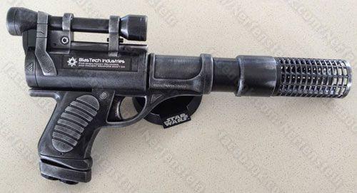 Image is loading Nerf-Clone-Trooper-Stormtrooper-Star-Wars-Blaster-Gun-