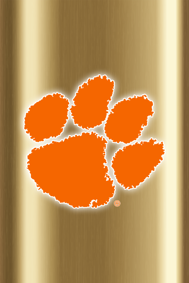 Set Of 24 Clemson Tigers Iphone Wallpapers Clemson Tigers Wallpaper Clemson Tigers Clemson