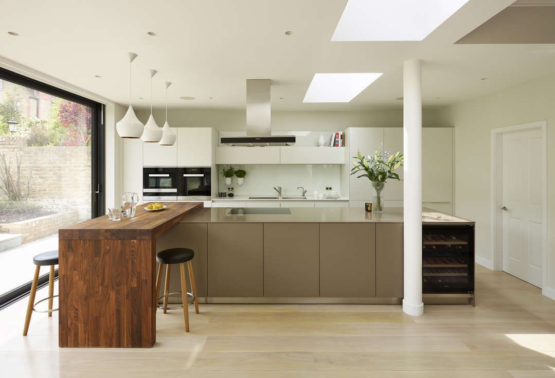 Kitchen Architecture Bulthaup B3 Furniture In Alpine White And