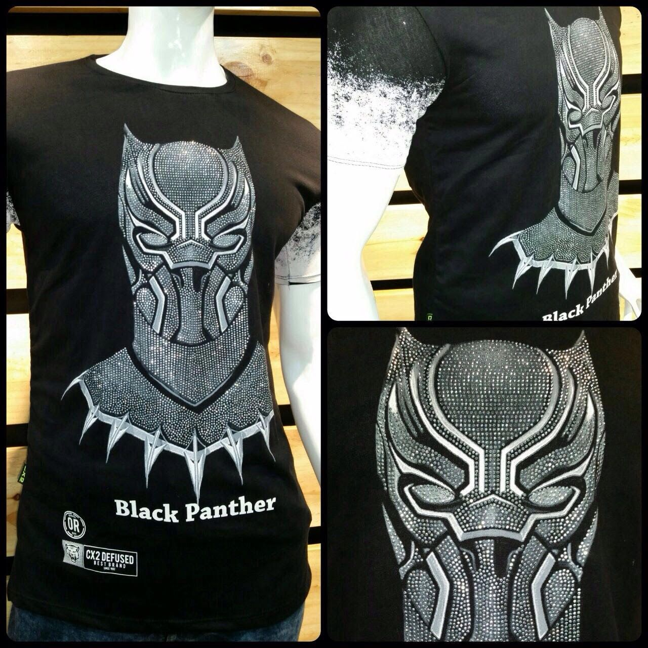 CAMISETA BLACK PANTHER