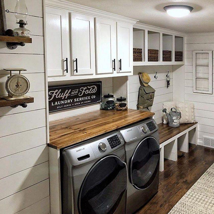 50 Luxury Laundry Room Ideas 38 In 2020 Laundry Room Renovation