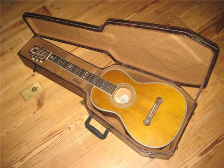 Washburn 19th Century Guitar Replica With Coffin Case Vintage Guitars Guitar Luthiery
