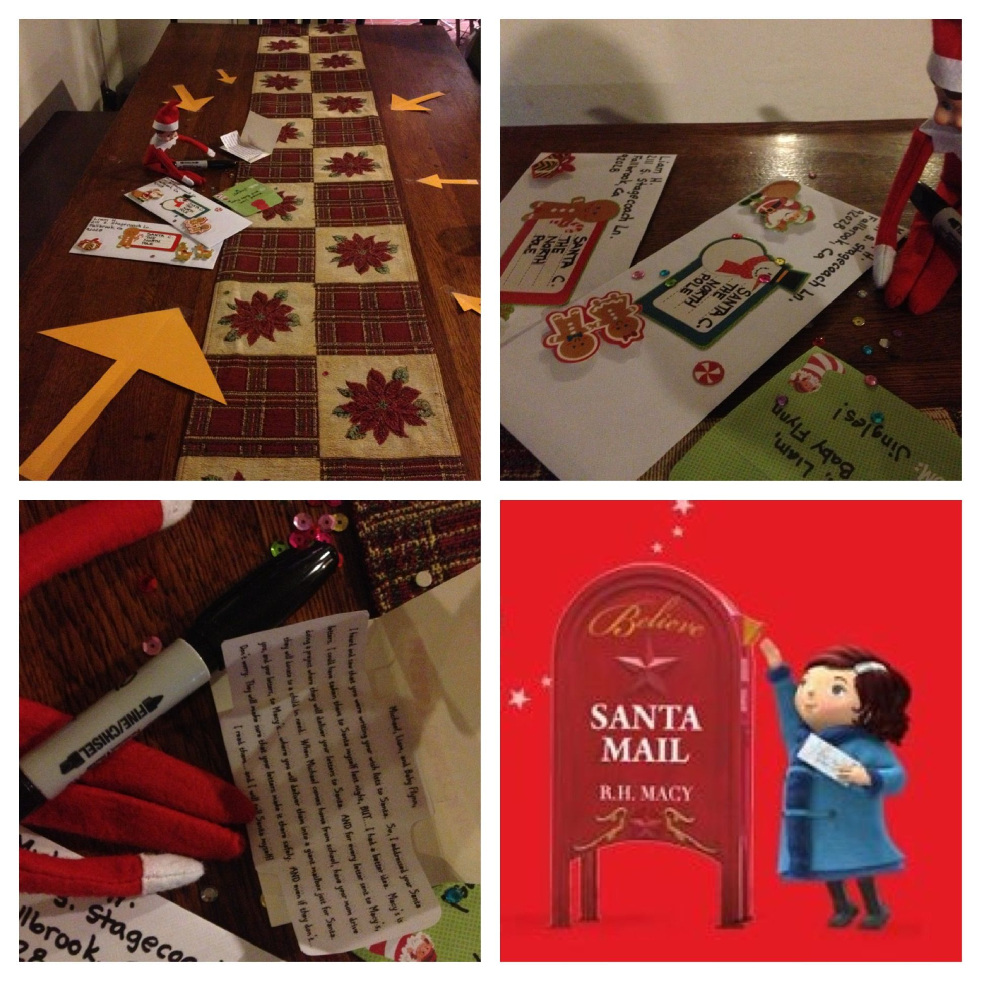 Elf on the Shelf Santa Letters Benefit MakeaWish! The