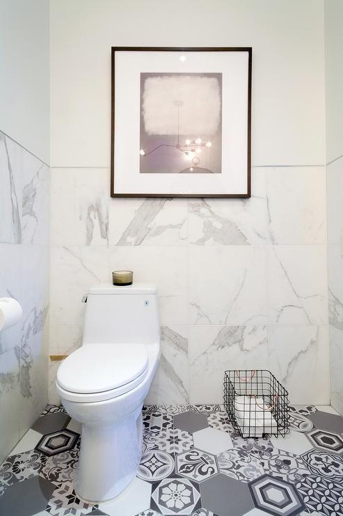 Grey Half Tiled Bathroom Ideas