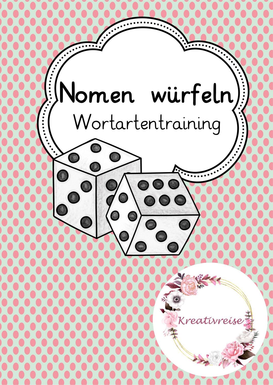 Bingo Wurfelspiel Nomen Unterrichtsmaterial In Den Fachern Daz Daf Deutsch In 2020 Bingo Der Wurfel Wurfel