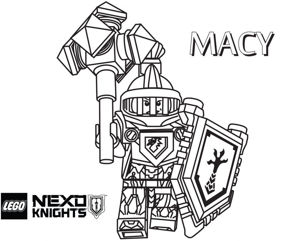 Coloring Pages Nexo Knights Printable Coloring Pages Axl S Tower