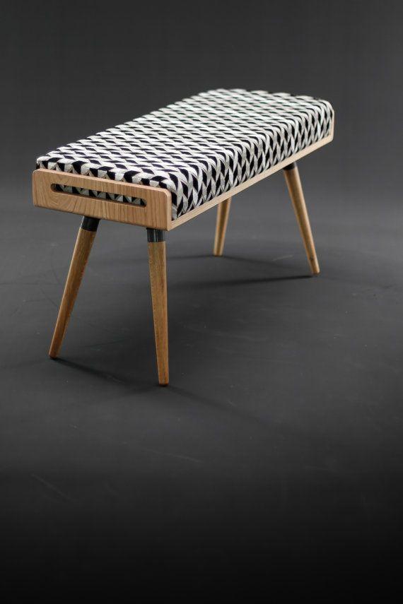 Stool / Seat / Ottoman / bench in oak and oak legs by Habitables & Stool / Seat / Ottoman / bench in oak and oak legs by Habitables ... islam-shia.org