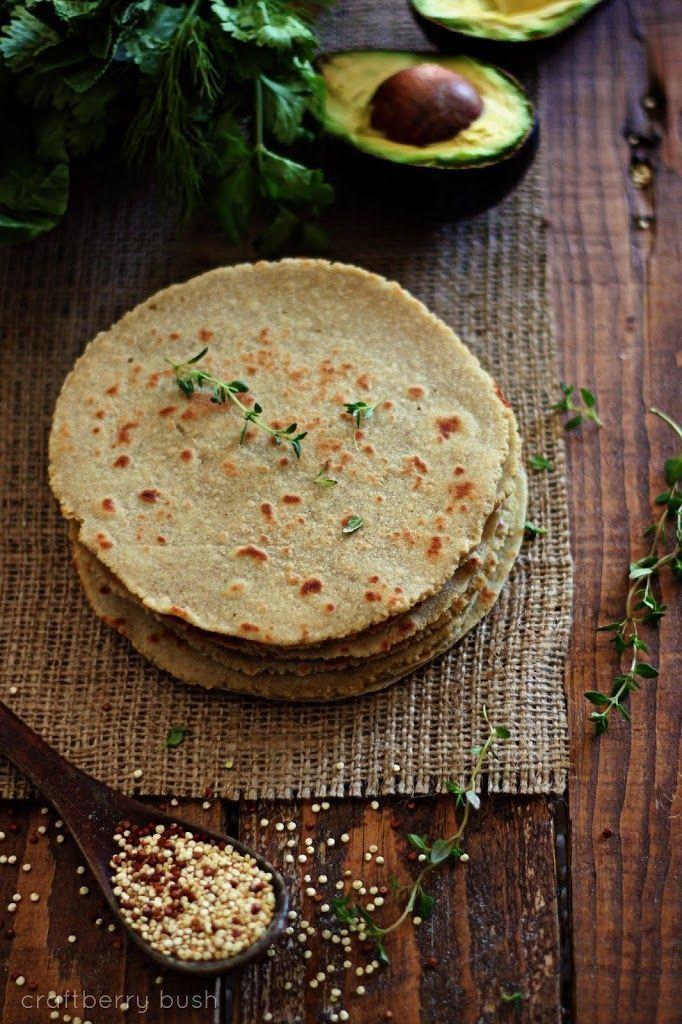 Quinoa and Brown Rice Flour Tortillas Recipes, Rice