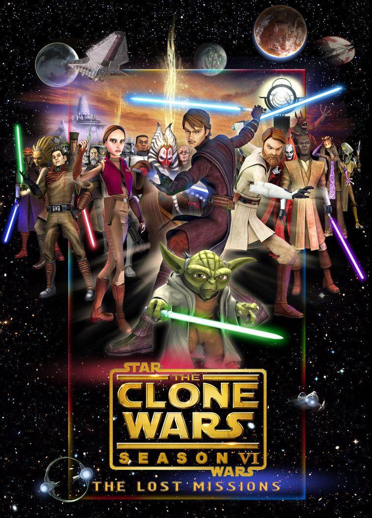 Clone Wars 6 Poster By Denisogloblin On Deviantart Star Wars Pictures Star Wars Background Star Wars Timeline