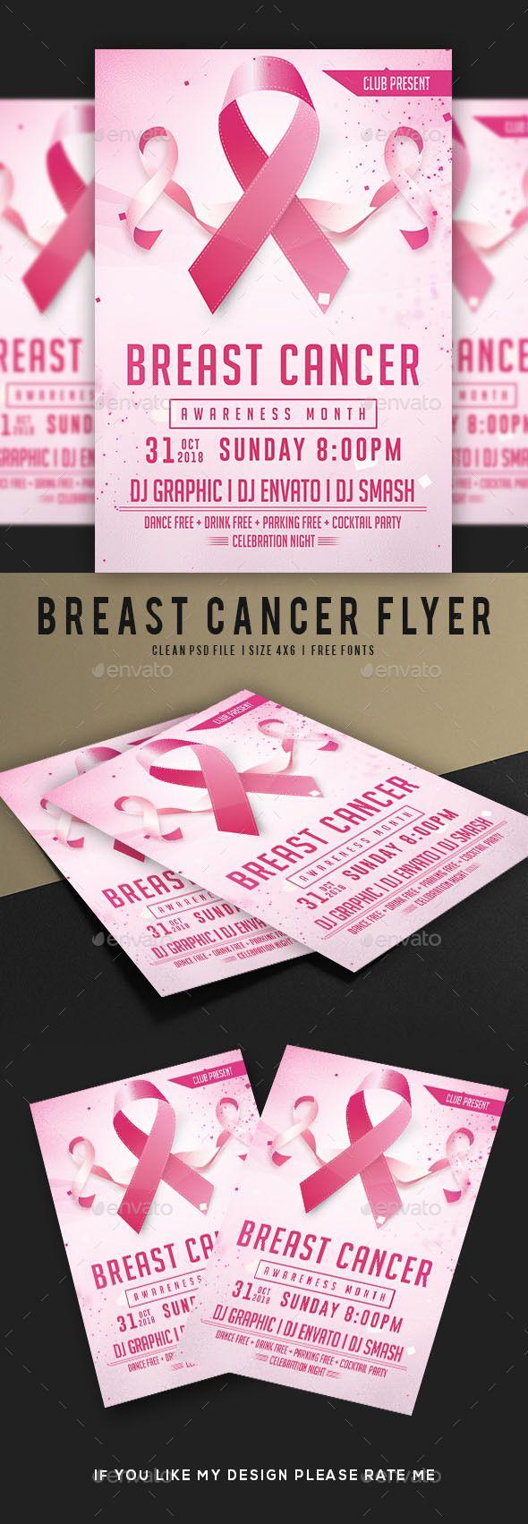 Breast Cancer Awareness Month Flyer   Pinterest   Breast cancer ...