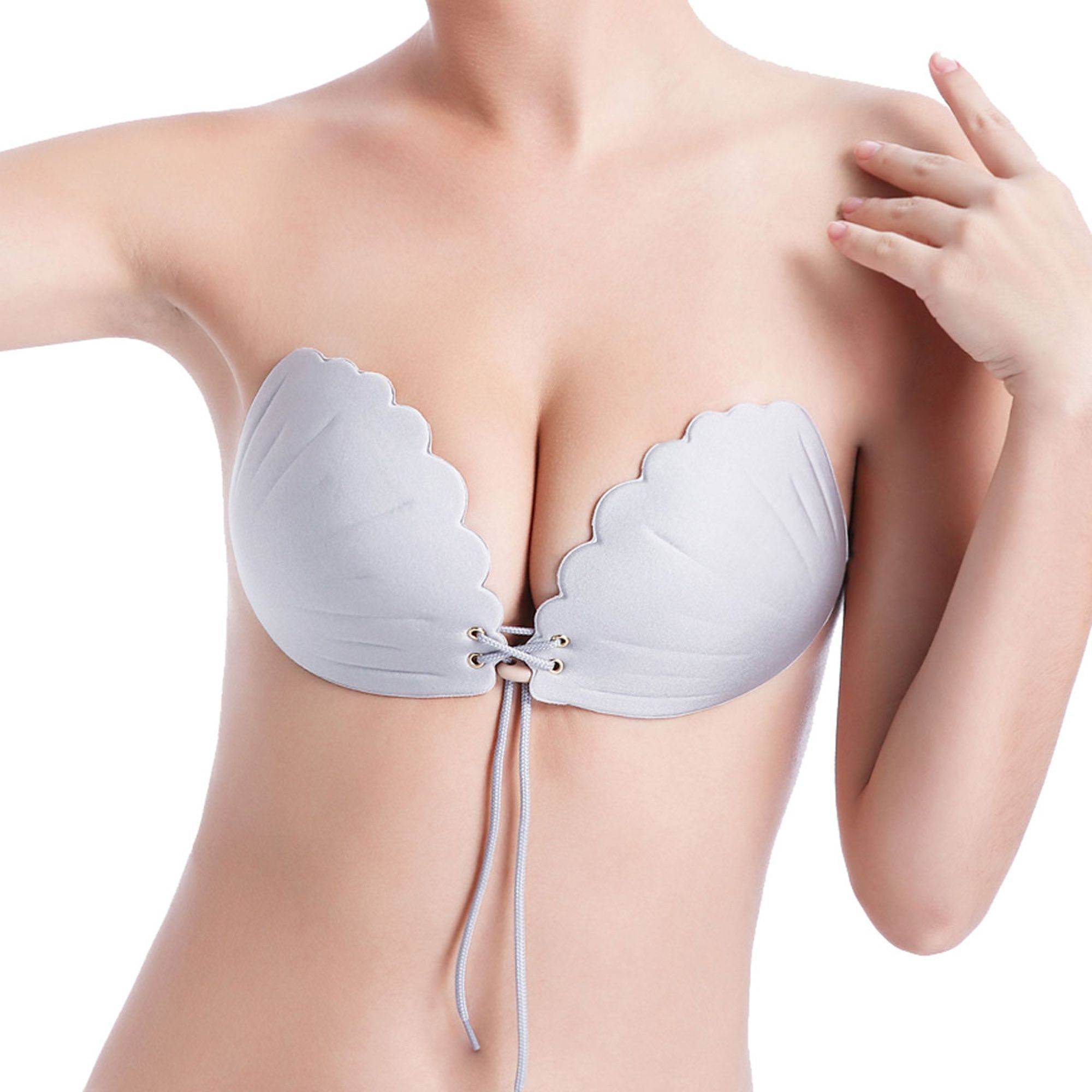 Sayfut Sayfut Strapless Bra Push Up Reusable Silicone Women Self Adhesive Sticky Backless Dresses And Wedding Bra 5 Styles To Choose Cup A E Black Grey Be Wedding Bra Party Bra Beige Skin [ 2000 x 2000 Pixel ]