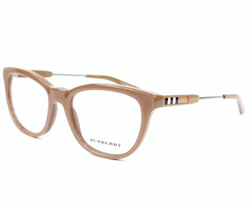 a384f2def BURBERRY Eyeglasses BE 2145 3423 Top Transparent Brown 53MM BURBERRY  http://www.