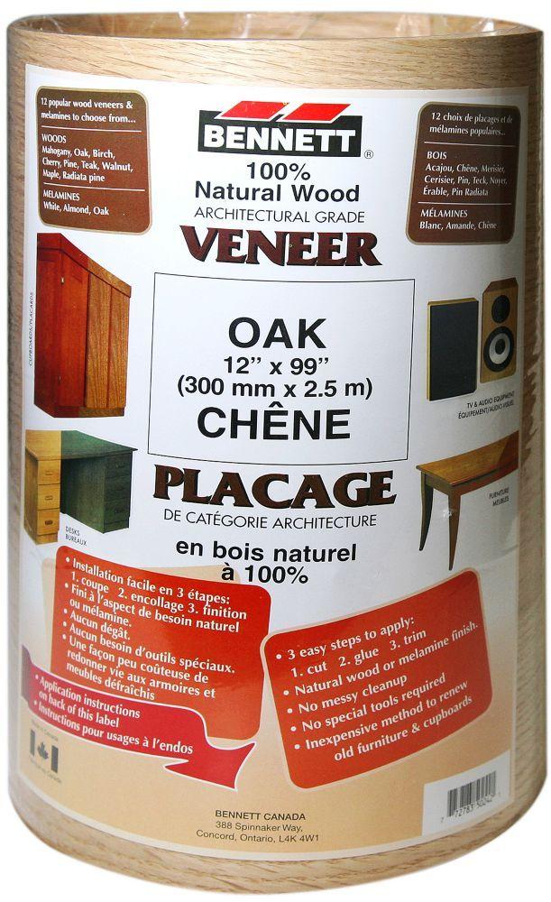 Sheet Veneer 12 Inch X 99 Inch Oak Veneers Oak Wood Veneer