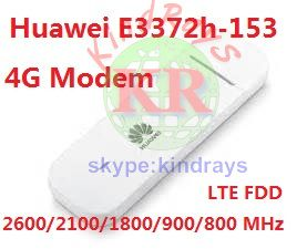 Unlocked Huawei E3372 E3372h-153 4G LTE USB Dongle USB Stick