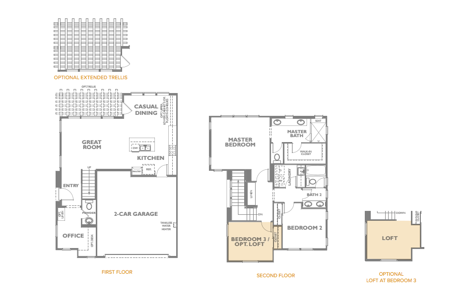 The Peake Residence 2 Floor Plan