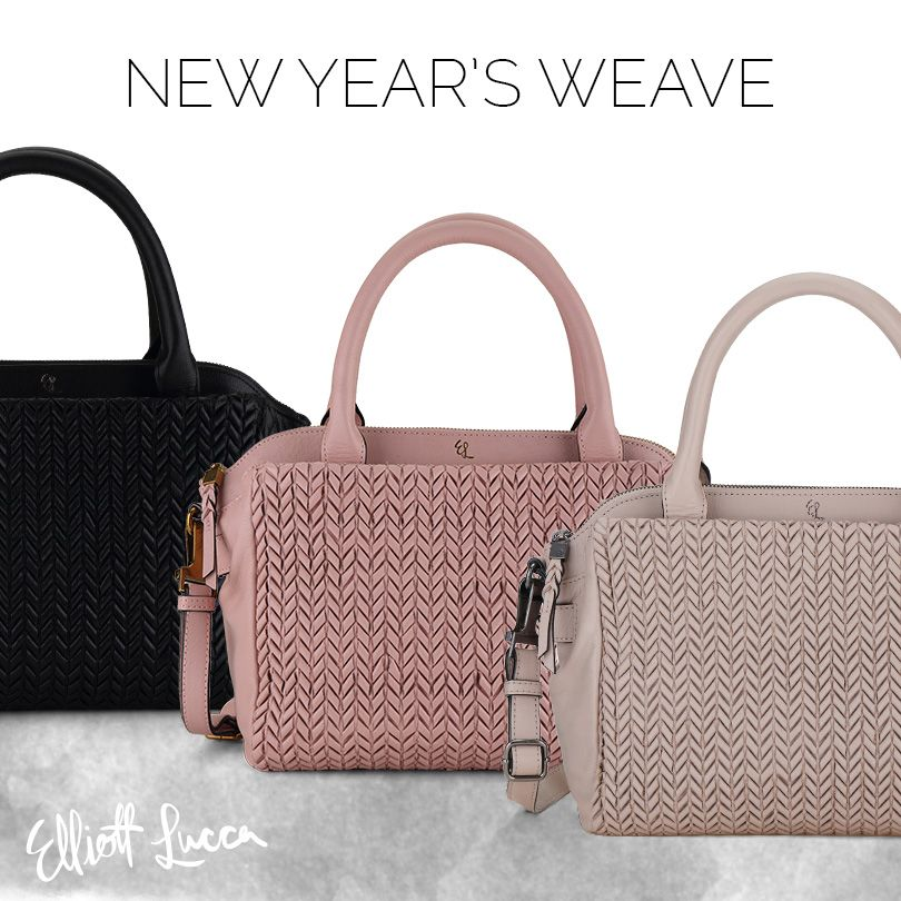 Head into the new year with our Bali '89 Isabel Satchel featuring a chic silhouette and classic woven leather exterior. Don't forget to take 40% off all handbags and 60% off all footwear during our winter sale using code ELSALE16!