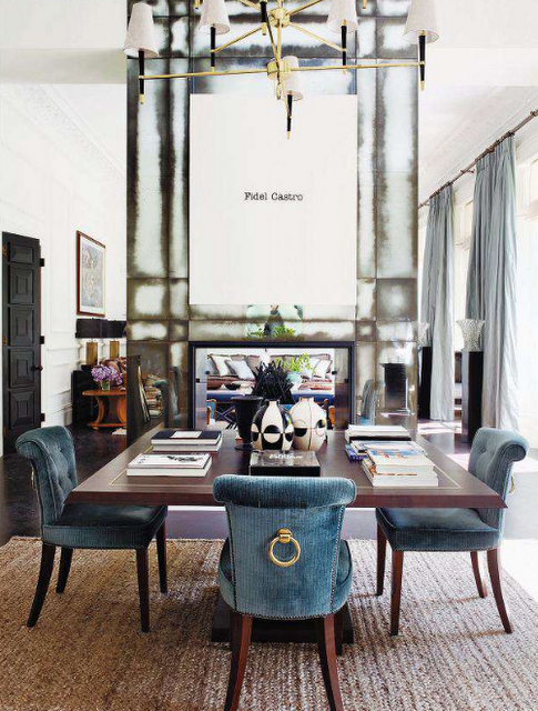 The Nero Chronicles When Fashionistas Turn Decorati Traditional Dining Rooms Beautiful Dining Rooms Dining Room Contemporary
