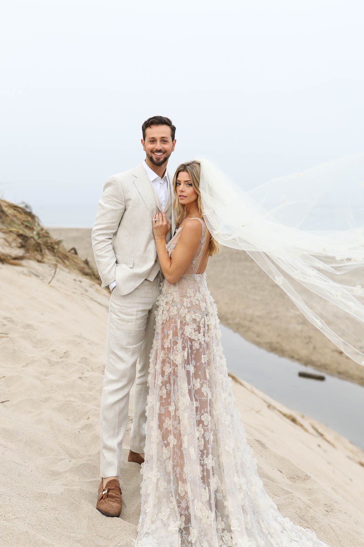 The First Photo Of Ashley Greenes Wedding Dress Is Here