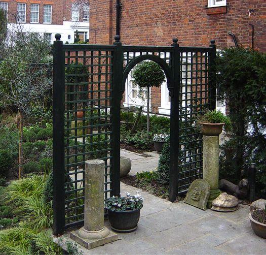 Trellis_arches_l_07 525×502 Pixels | Period Home Contemporary Garden |  Pinterest | Gardens, Garden Ideas And Contemporary Gardens