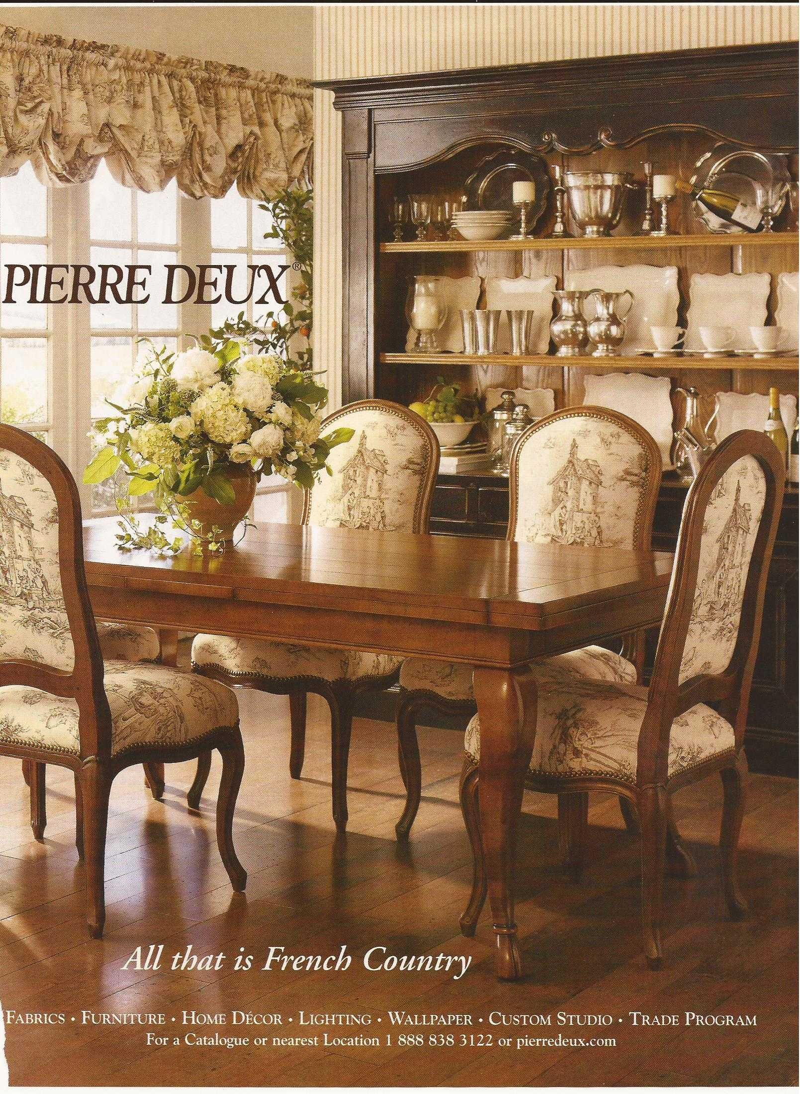 French Country Dining By Pierre Deux