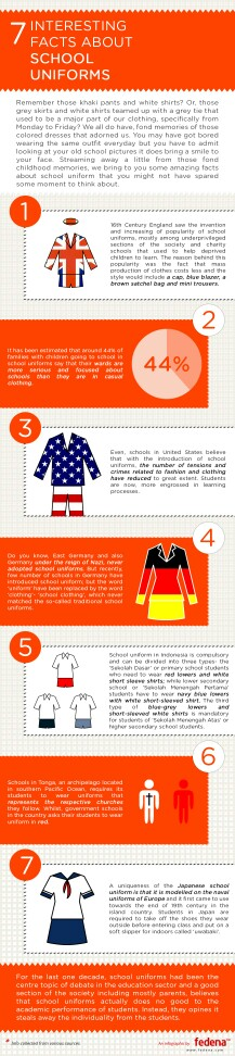 Facts about school uniform | Teaching | Facts about school