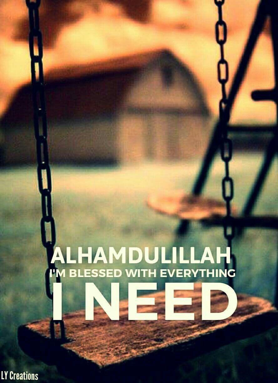 alhamdulillah i am blessed islam allah quotes islam