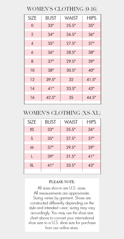 Badgley Mischka Clothing Size Chart | Bridesmaid dresses | Pinterest ...
