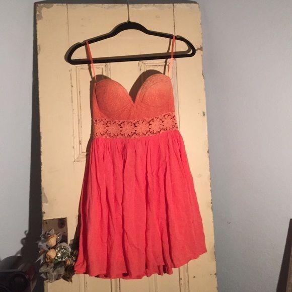 Angel Biba Dresses   Angel Biba Red Wine Summer Dress Nwt
