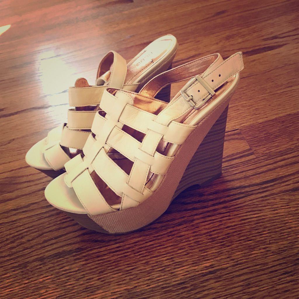 Bcbg Wedge Platform Shoes
