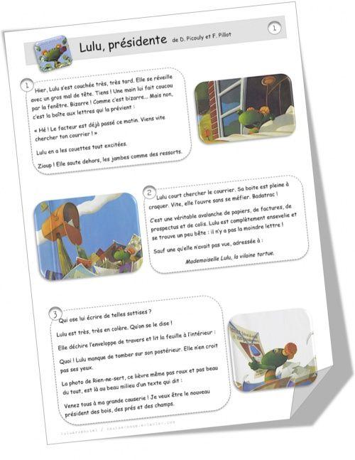 Les Elections Presidentielles Cycles 2 Et 3 Education Civique Enseignement Pour Enfants Lecture Ce1