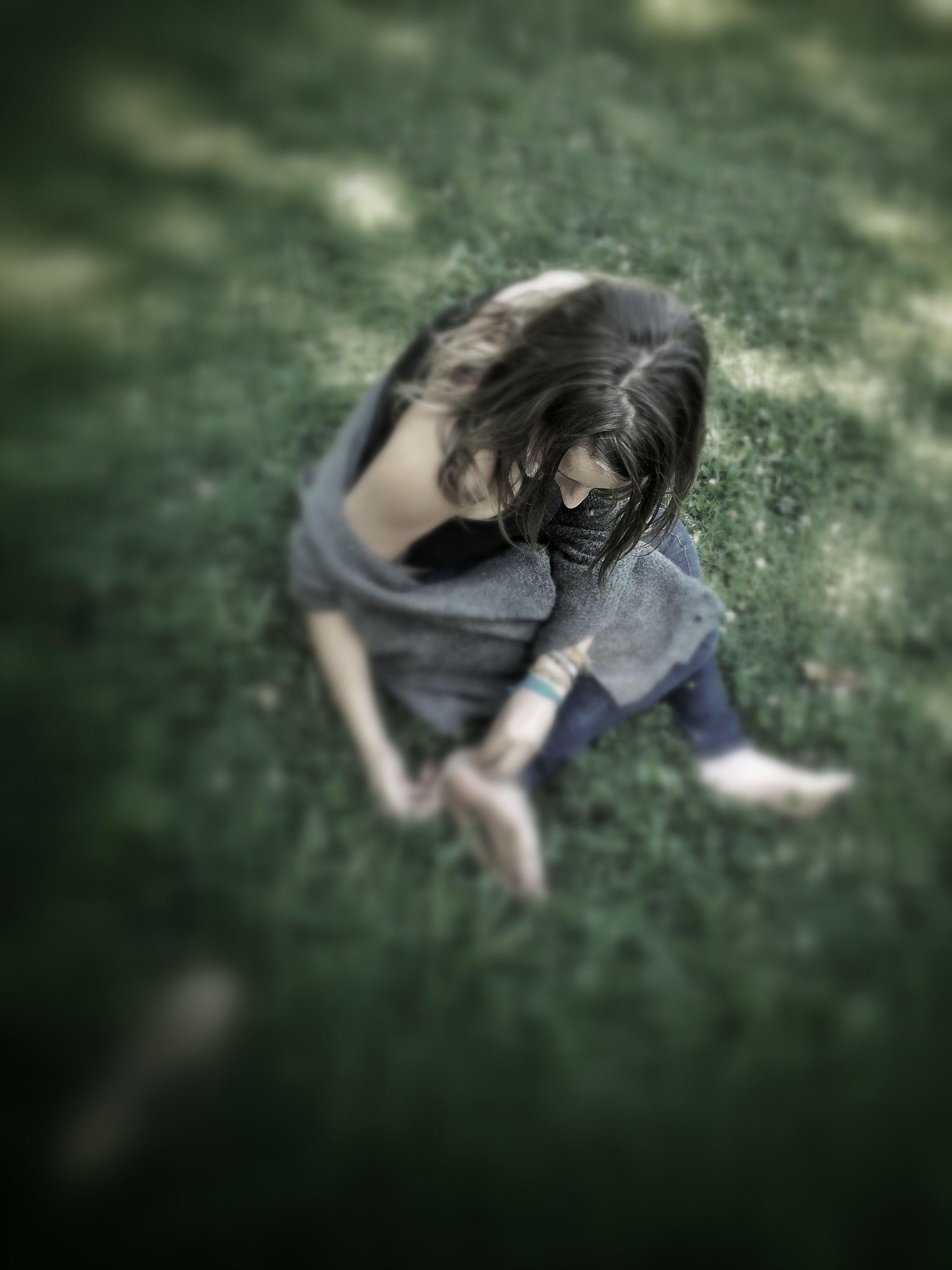 Young woman in park Portrait, Women, Image