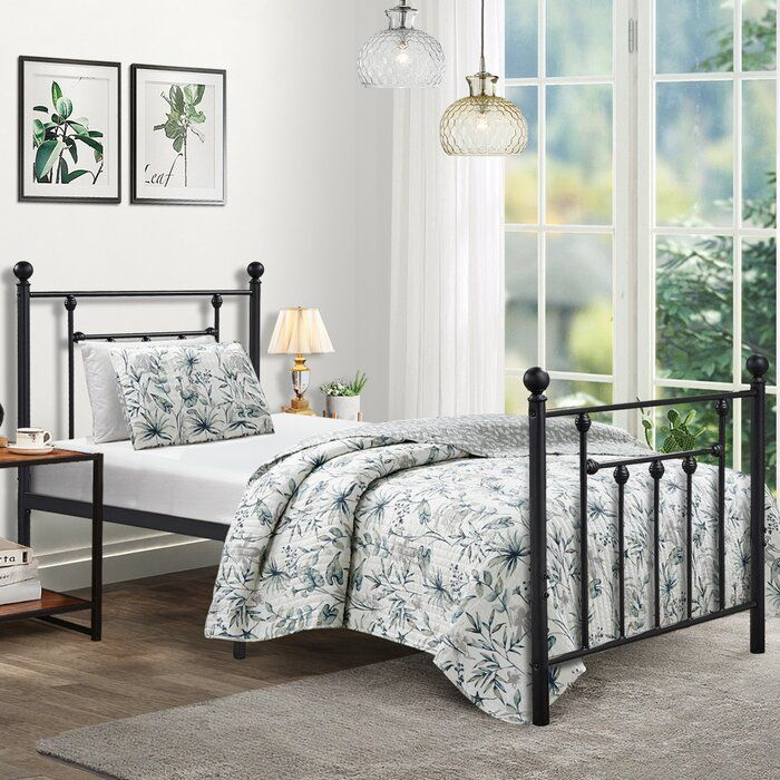 Naquin Platform Bed (With images) Twin size bed frame