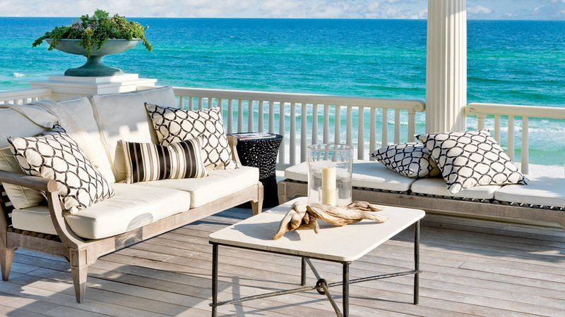 65 Beachy Porches And Patios Outdoor Living Rooms Home 400 x 300