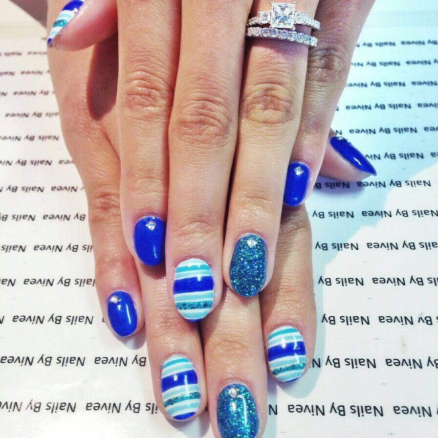 Gel Mani by Nivea. Summer nails.
