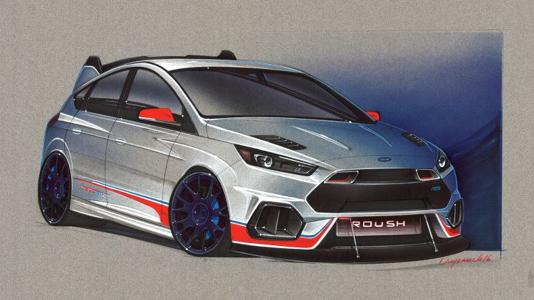Ford Focus RS Roush SEMA 2016 Ford focus, Focus rs, Ford