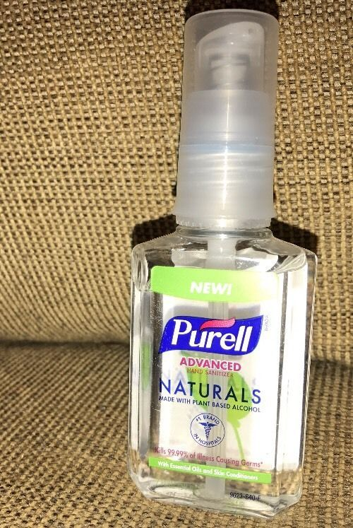 Purell Unscented Hand Sanitizer Hand Sanitizer Bottle Alcohol