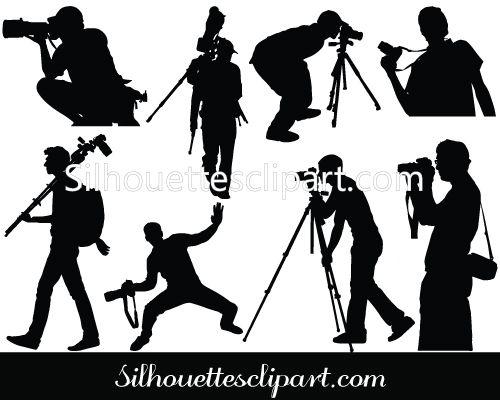 Photographer Vector Graphics Download Photographer Clipart Vector Graphics Silhouette Vector Silhouette Clip Art