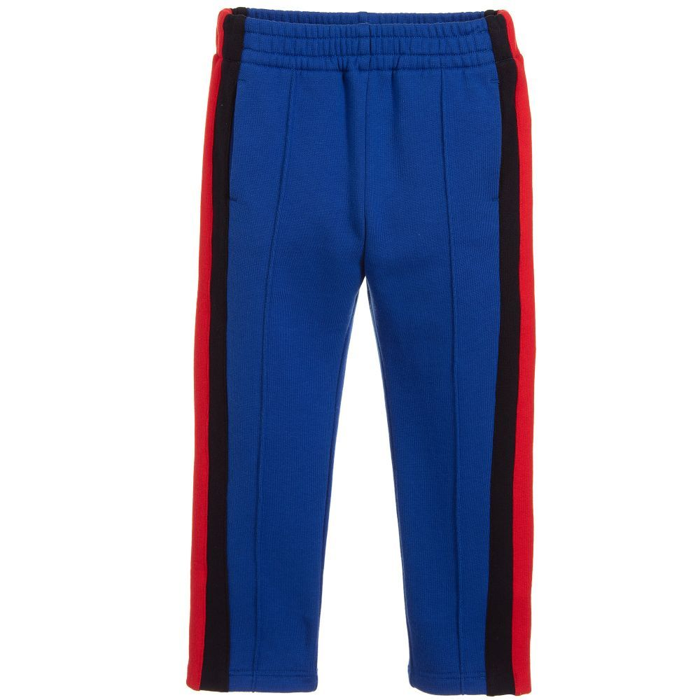 6efbf9e161c0ef These comfortable trousers have a stretchy elasticated waistband, with red  and black striped web ...
