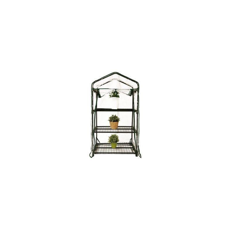 Mini Serre de Jardin Botanique 2 etageres 69x49x95cm - MNS2E095